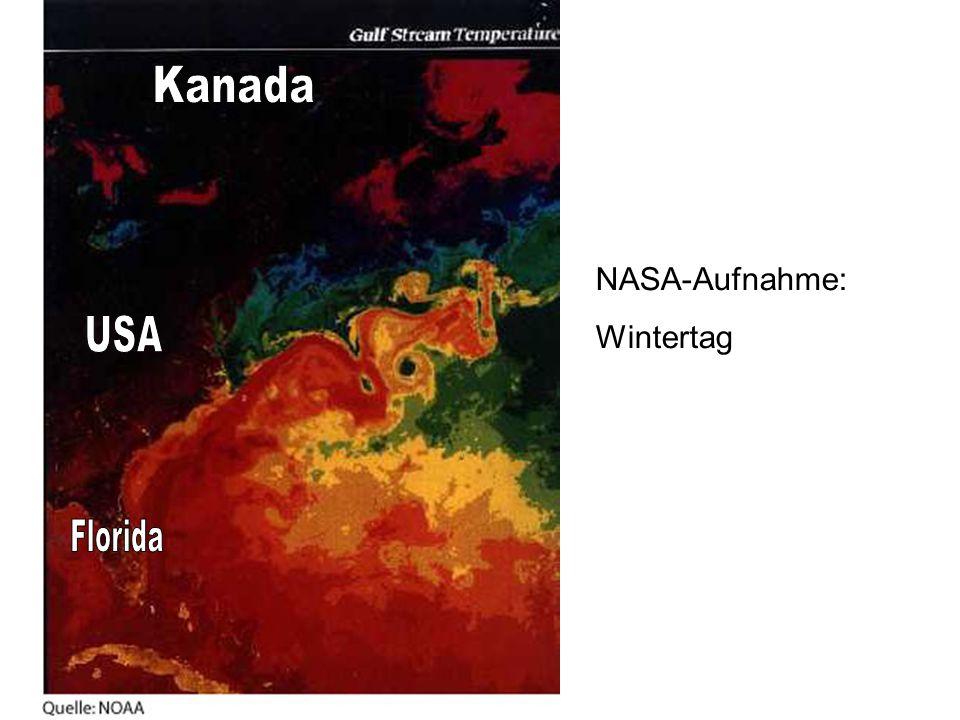 Kanada NASA-Aufnahme: Wintertag USA Florida