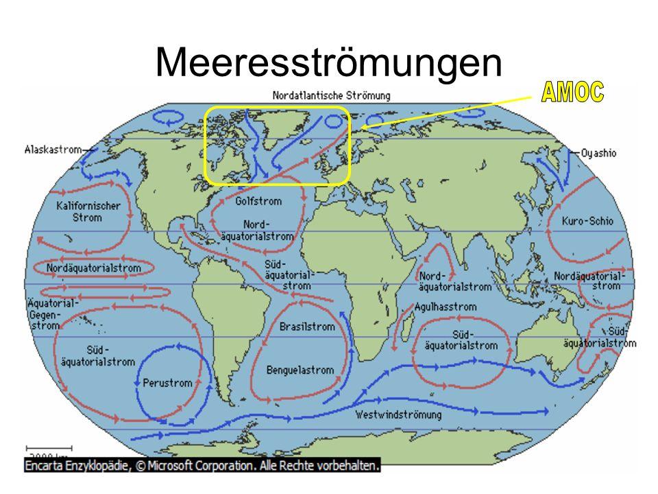 Meeresströmungen AMOC