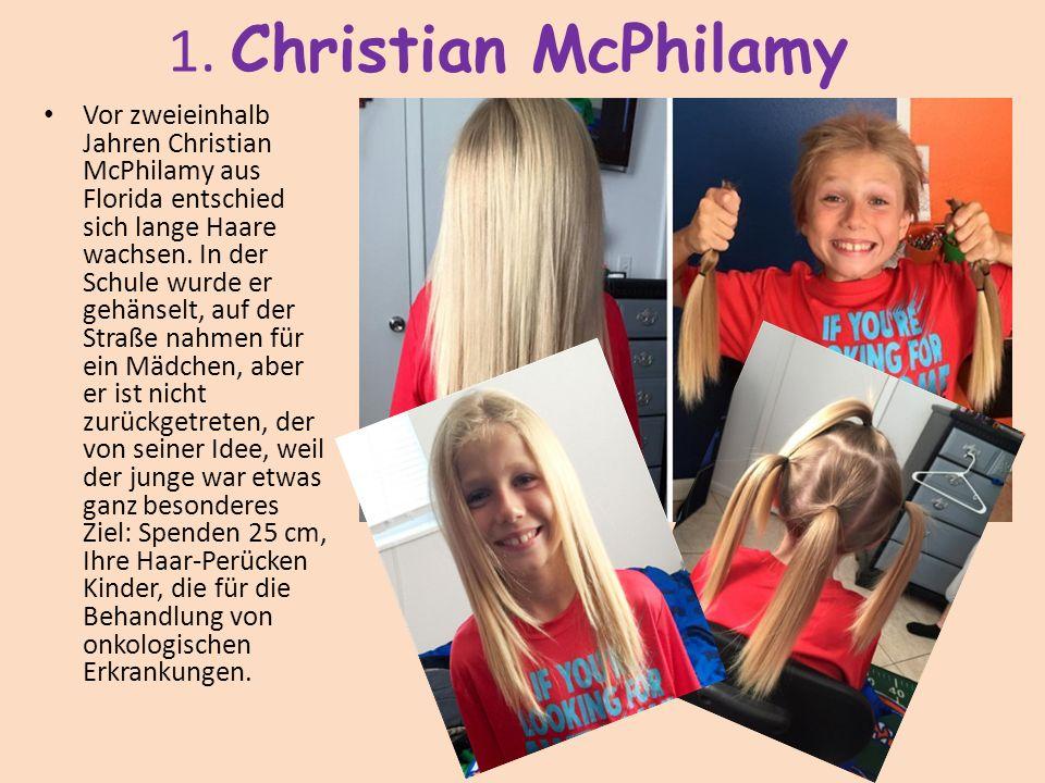 1. Christian McPhilamy