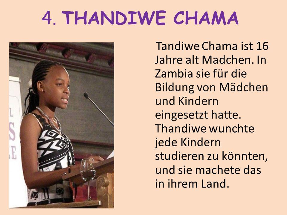 4. THANDIWE CHAMA