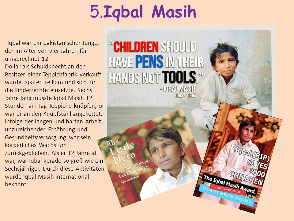 5.Iqbal Masih