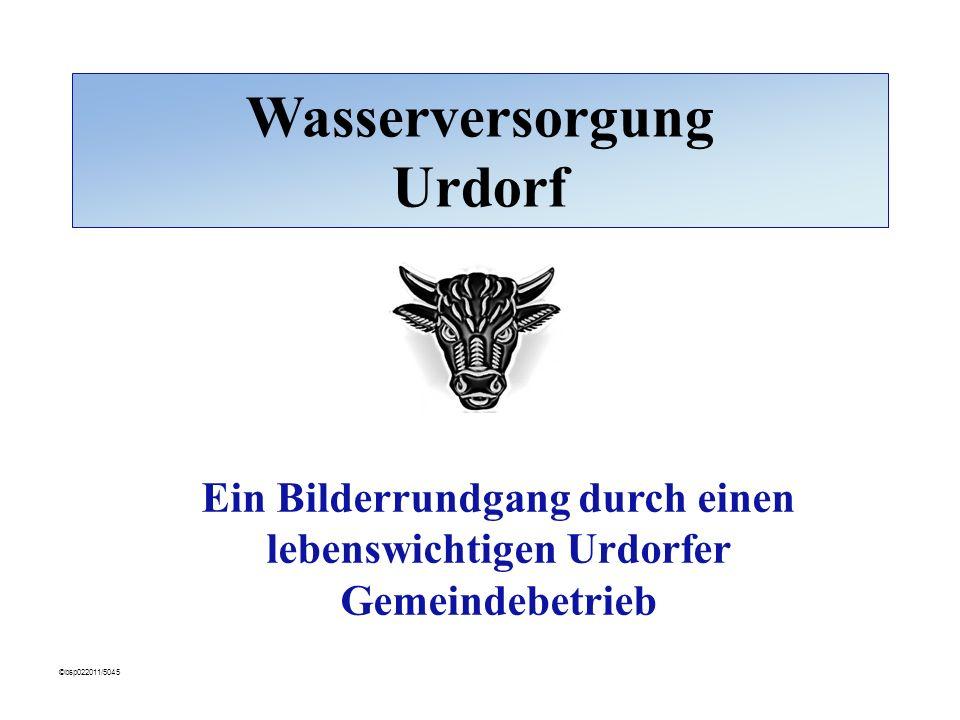 Wasserversorgung Urdorf