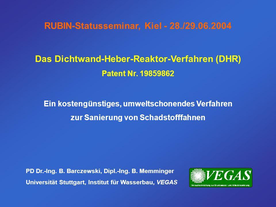 RUBIN-Statusseminar, Kiel - 28./29.06.2004
