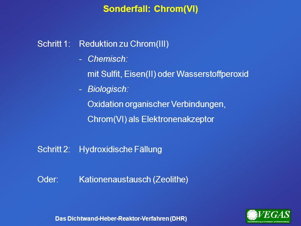 Sonderfall: Chrom(VI) Das Dichtwand-Heber-Reaktor-Verfahren (DHR)