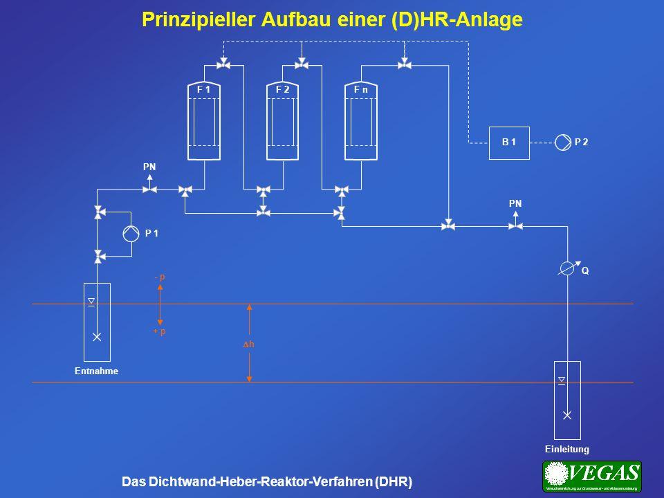 Prinzipieller Aufbau einer (D)HR-Anlage