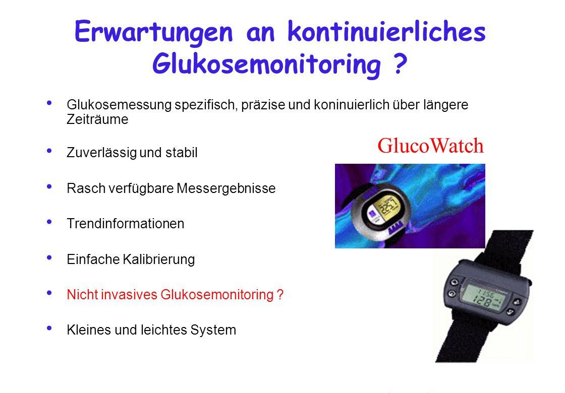 Erwartungen an kontinuierliches Glukosemonitoring