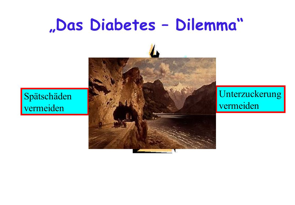 """Das Diabetes – Dilemma"
