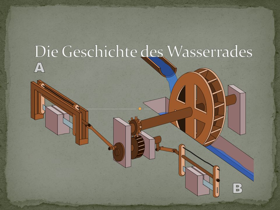 Die Geschichte des Wasserrades