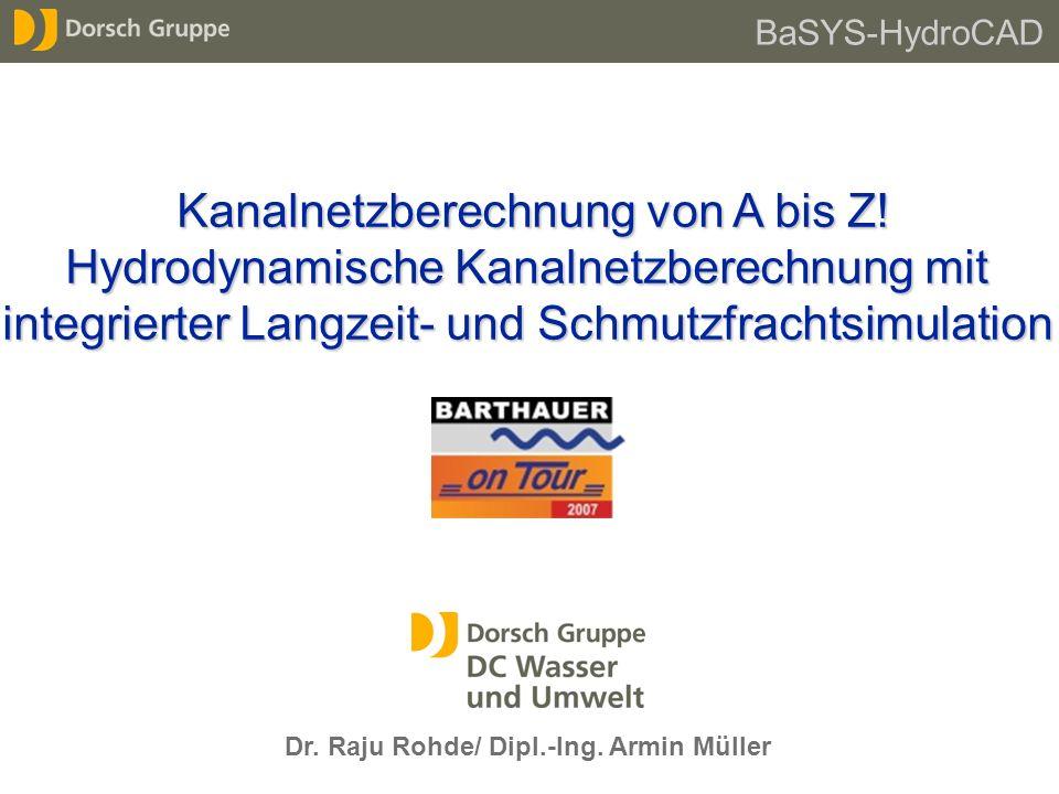 Dr. Raju Rohde/ Dipl.-Ing. Armin Müller