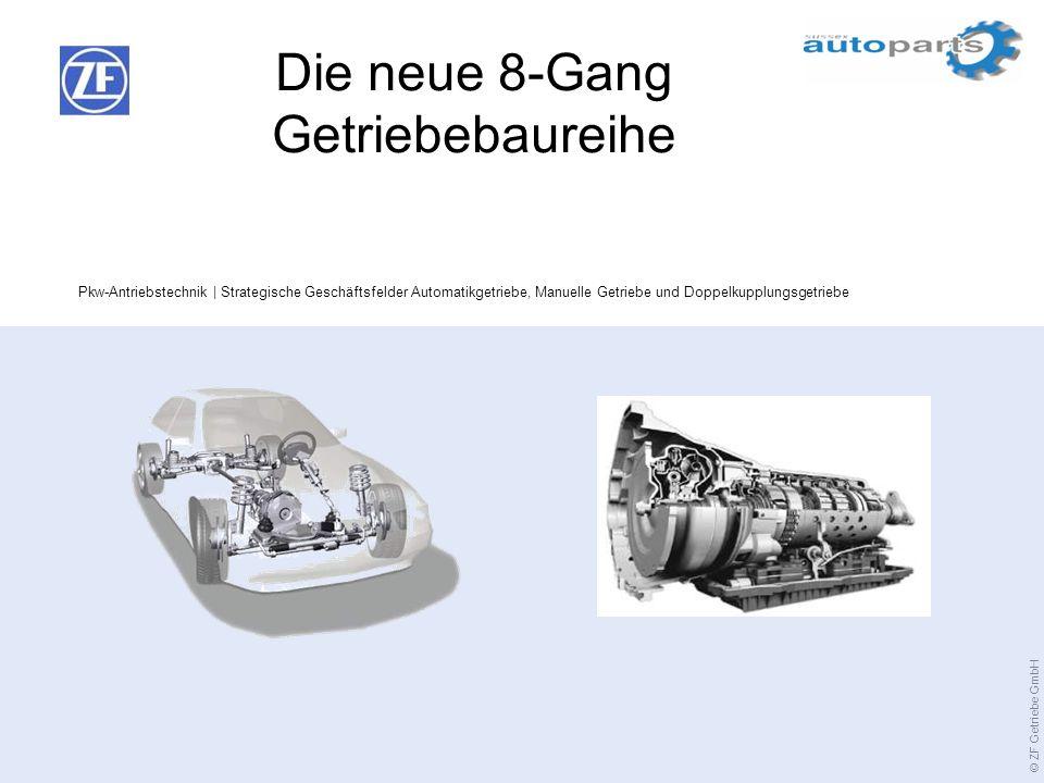 Die neue 8-Gang Getriebebaureihe