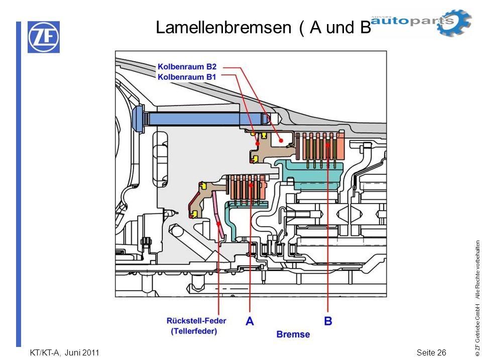 Lamellenbremsen ( A und B )