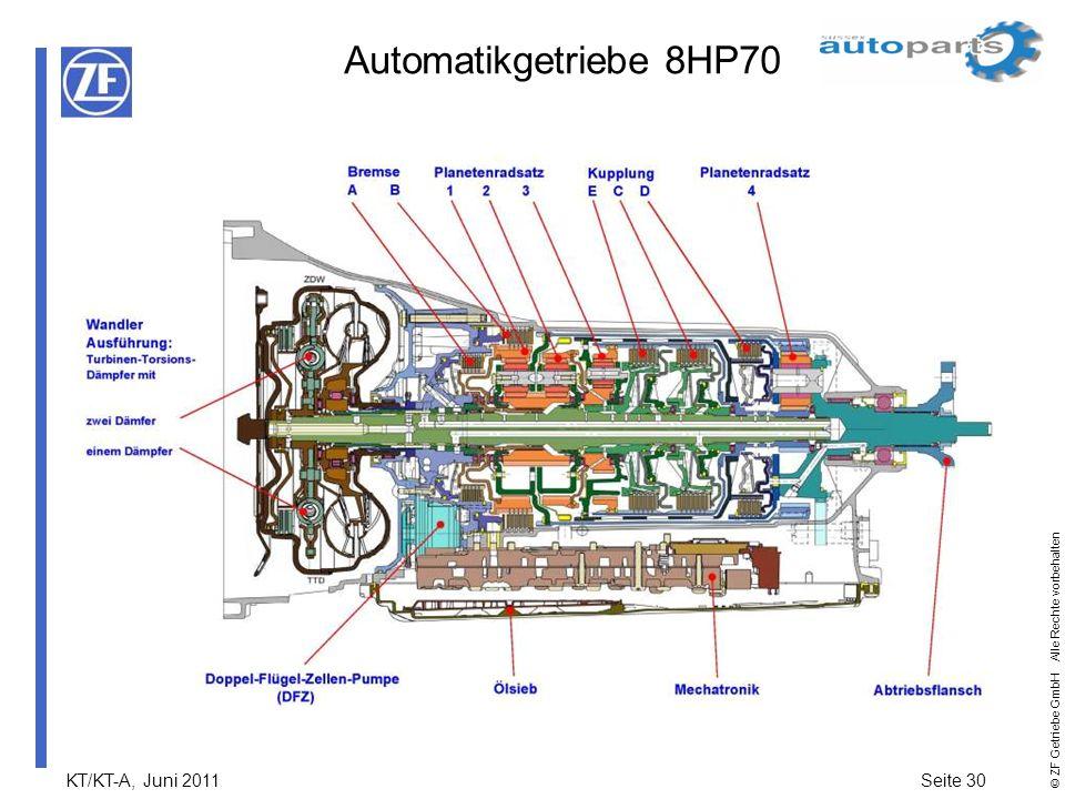 Automatikgetriebe 8HP70