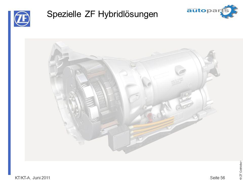 Spezielle ZF Hybridlösungen