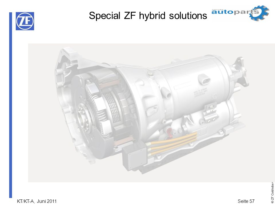Special ZF hybrid solutions