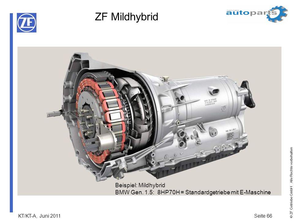 ZF Mildhybrid Beispiel: Mildhybrid