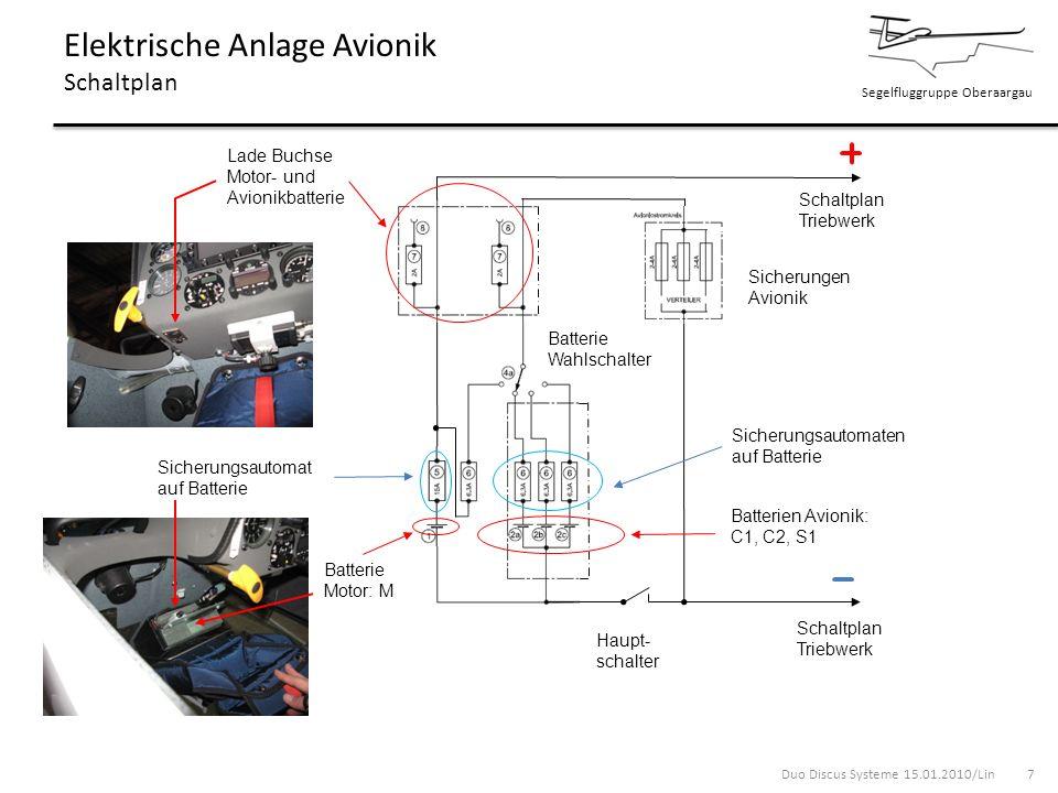 Elektrische Anlage Avionik Schaltplan