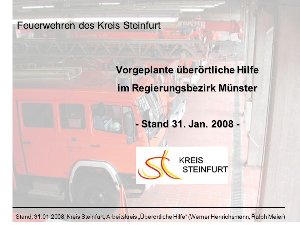 Feuerwehren des Kreis Steinfurt