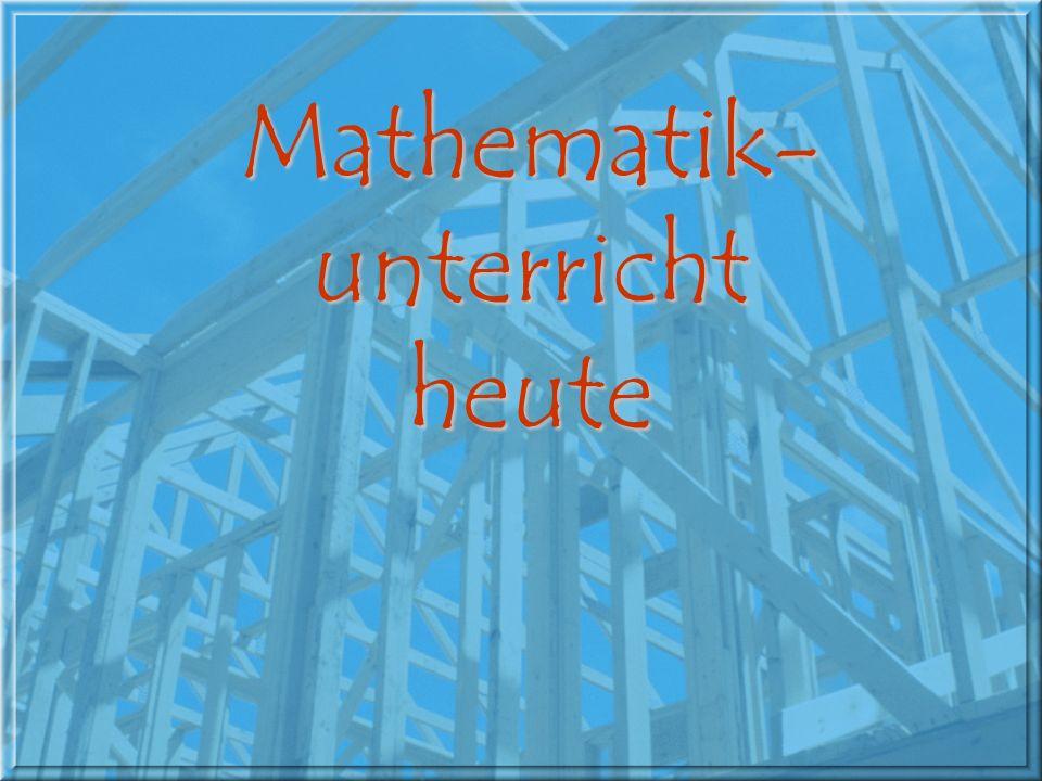 Mathematik-unterricht
