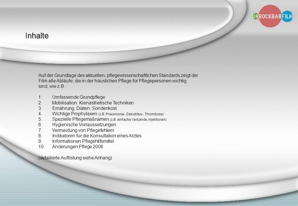 Inhalte Auf der Grundlage des aktuellen, pflegewissenschaftlichen Standards zeigt der.