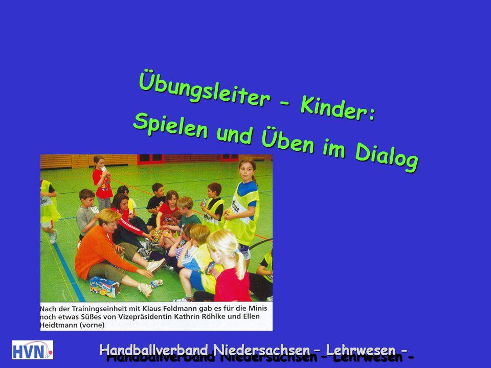Übungsleiter - Kinder: