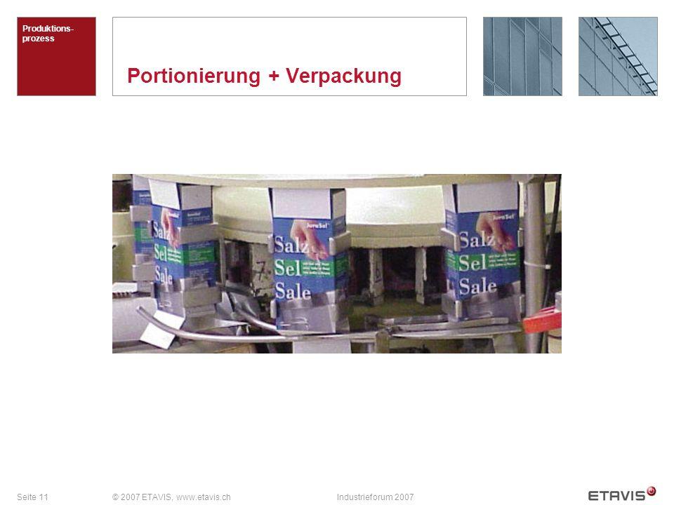 Portionierung + Verpackung