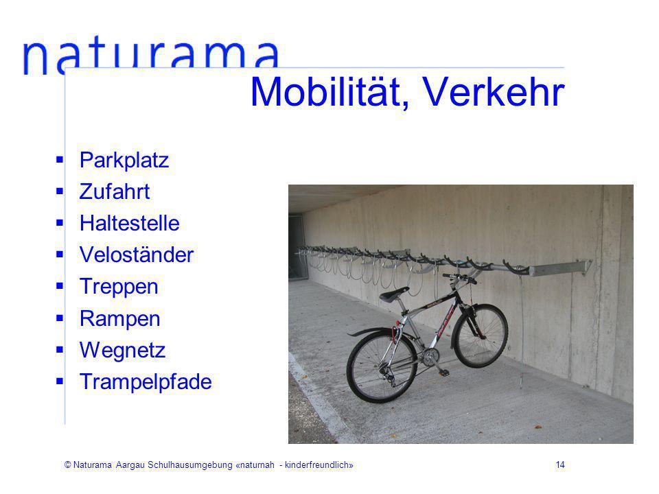 Mobilität, Verkehr Parkplatz Zufahrt Haltestelle Veloständer Treppen
