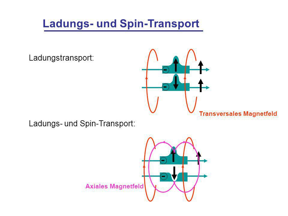Ladungs- und Spin-Transport