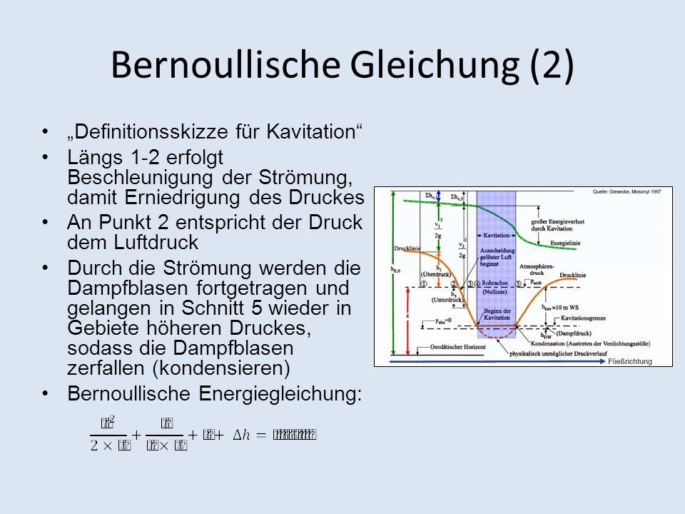 Bernoullische Gleichung (2)