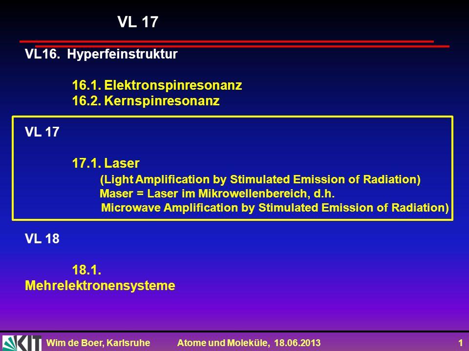 VL 17 VL16. Hyperfeinstruktur 16.1. Elektronspinresonanz