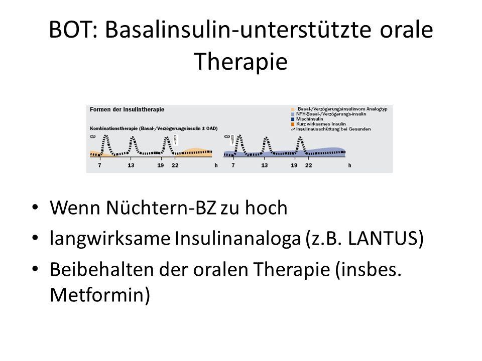 BOT: Basalinsulin-unterstützte orale Therapie