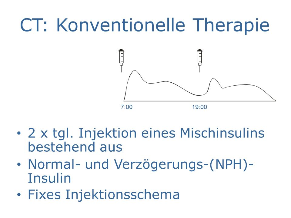 CT: Konventionelle Therapie