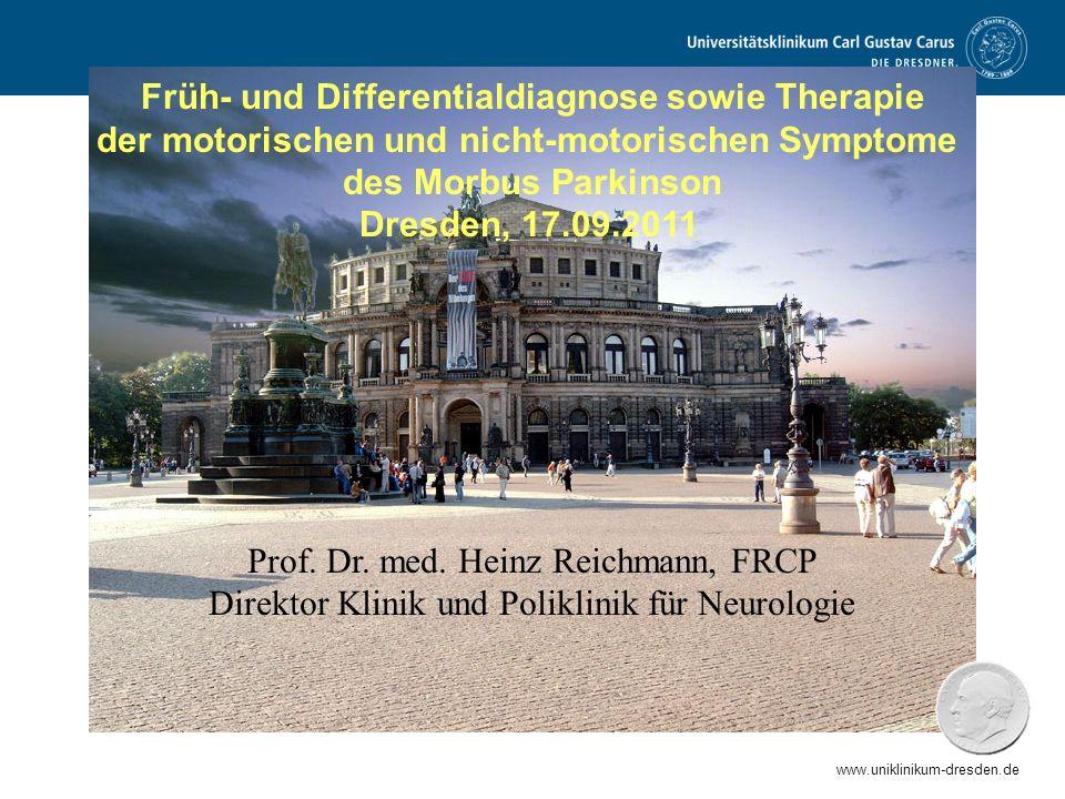 Früh- und Differentialdiagnose sowie Therapie