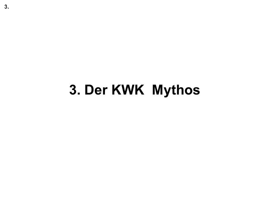 3. 3. Der KWK Mythos