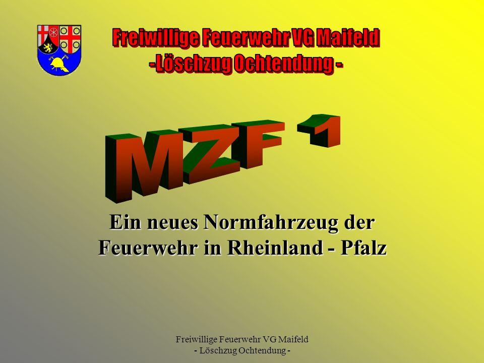 Ein neues Normfahrzeug der Feuerwehr in Rheinland - Pfalz