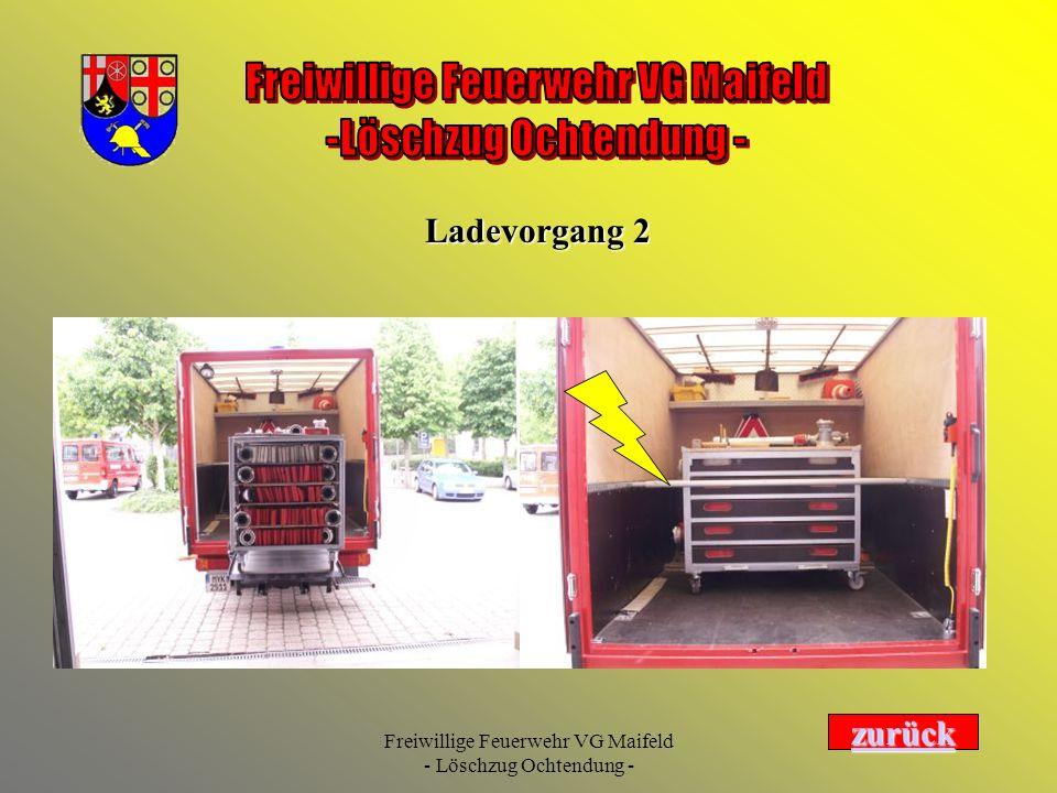 Ladevorgang 2 zurück Freiwillige Feuerwehr VG Maifeld