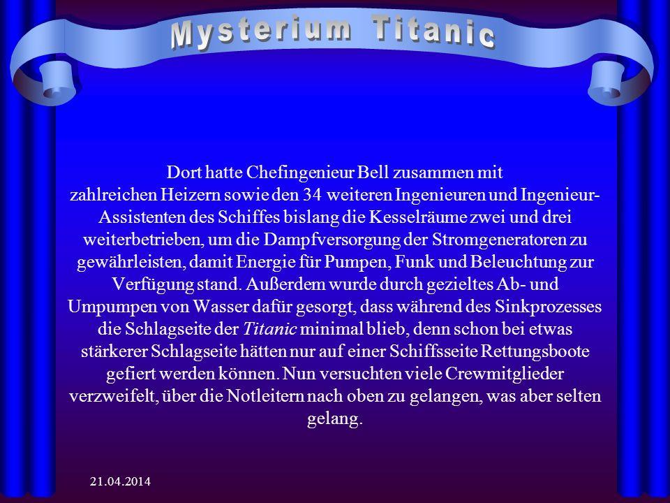Mysterium Titanic