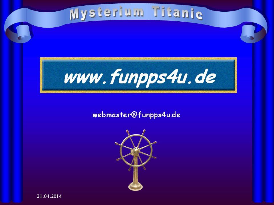 28.03.2017 Mysterium Titanic 28.03.2017