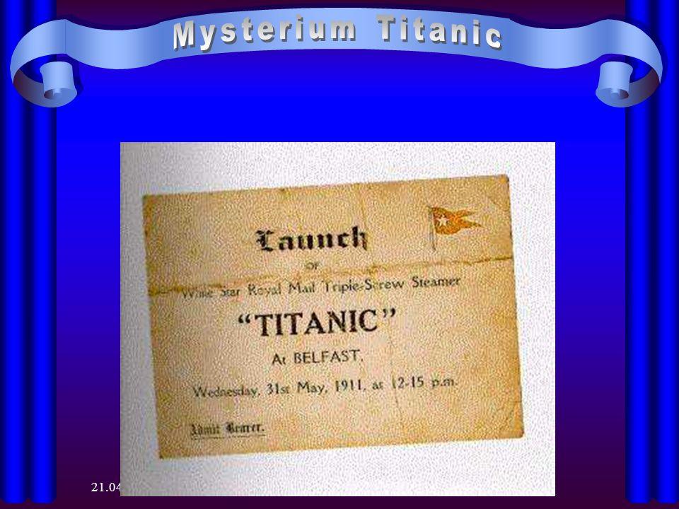 Mysterium Titanic 28.03.2017