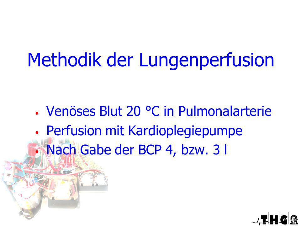 Methodik der Lungenperfusion