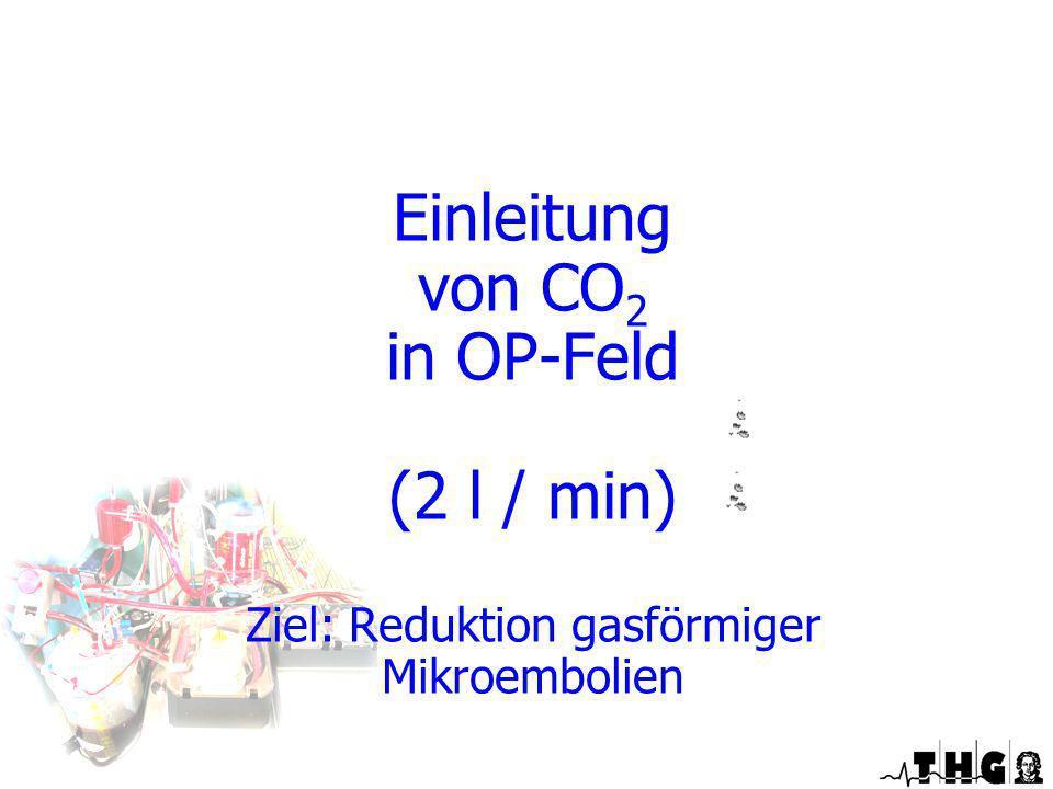 Ziel: Reduktion gasförmiger