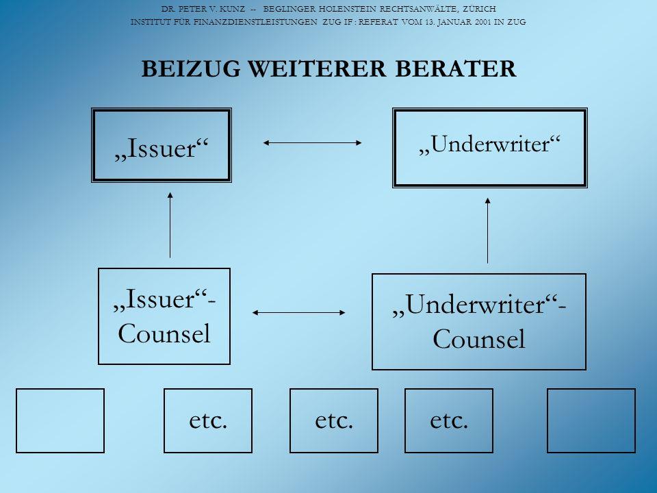 BEIZUG WEITERER BERATER