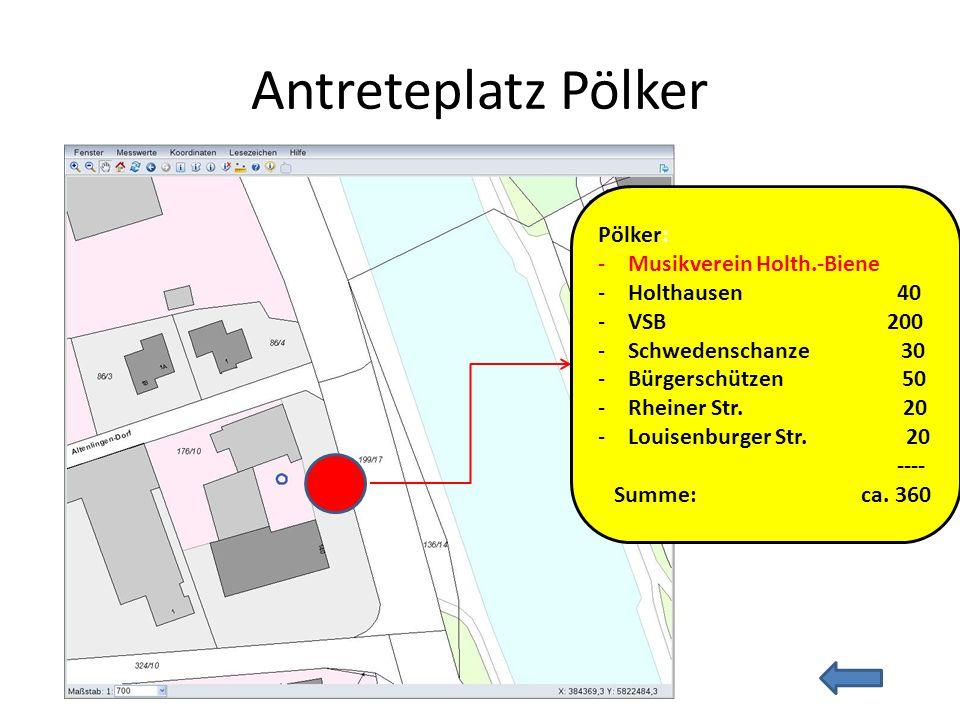 Antreteplatz Pölker Pölker: Musikverein Holth.-Biene Holthausen 40