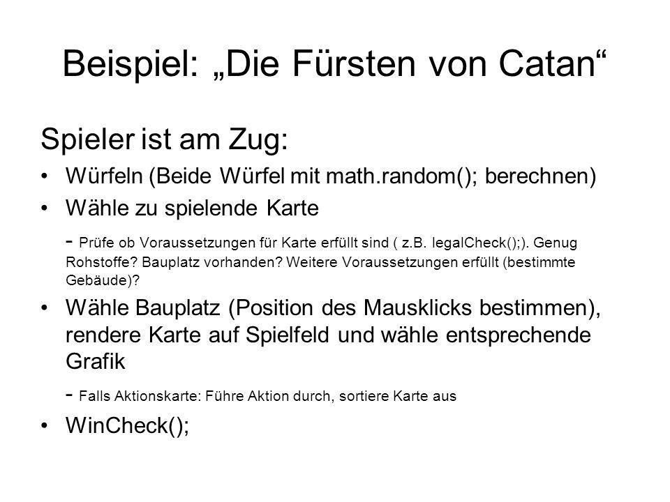 """Beispiel: """"Die Fürsten von Catan"""