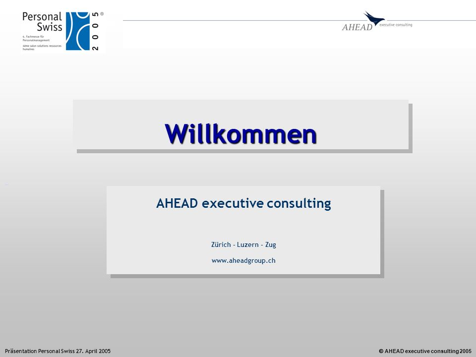 AHEAD executive consulting