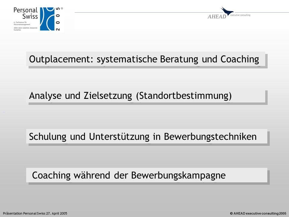 Outplacement: systematische Beratung und Coaching