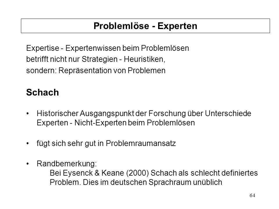 Problemlöse - Experten