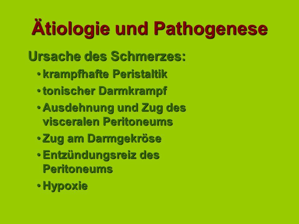 Ätiologie und Pathogenese