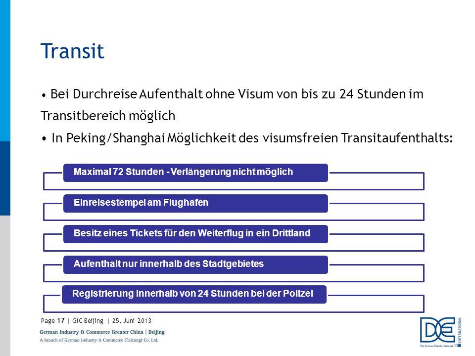 Transit Bei Durchreise Aufenthalt ohne Visum von bis zu 24 Stunden im Transitbereich möglich.