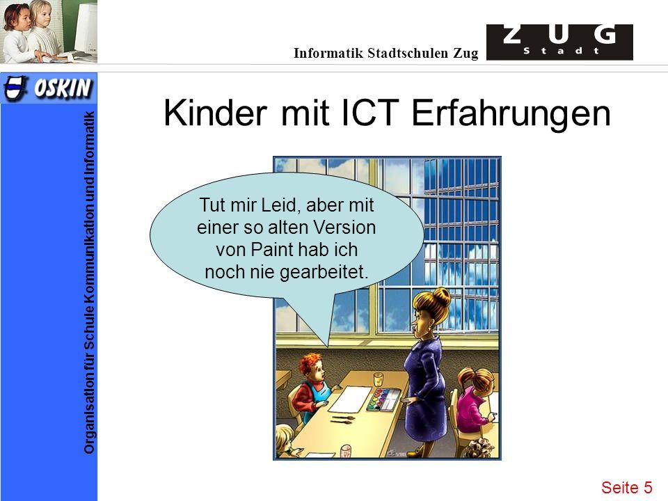 Kinder mit ICT Erfahrungen