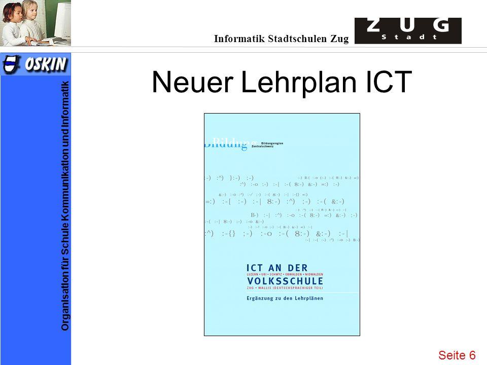 Neuer Lehrplan ICT Seite 6